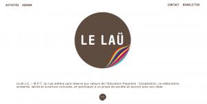 Site internet de la MJC du Laü